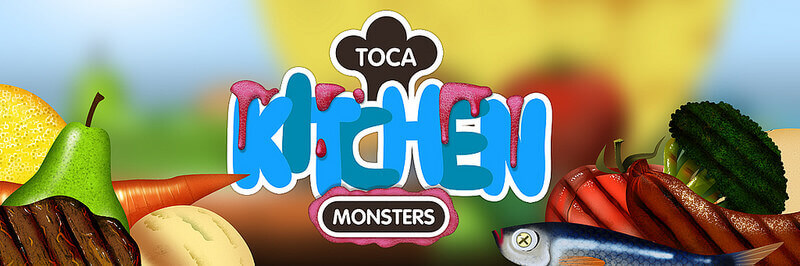 Gode Apps til Børn - Toca Kitchen Monsters
