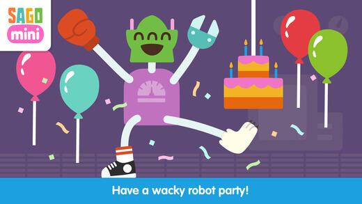 Sago Mini Robot fest