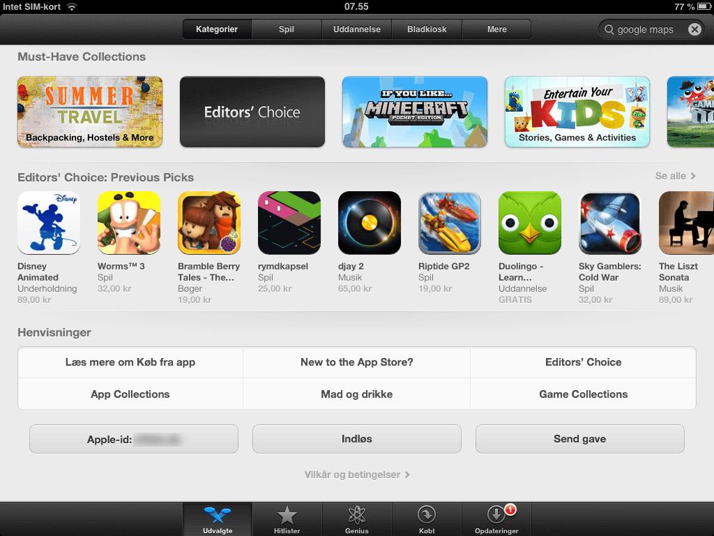Gode Apps til Børn - Voucher Guide til Appstore Ipad
