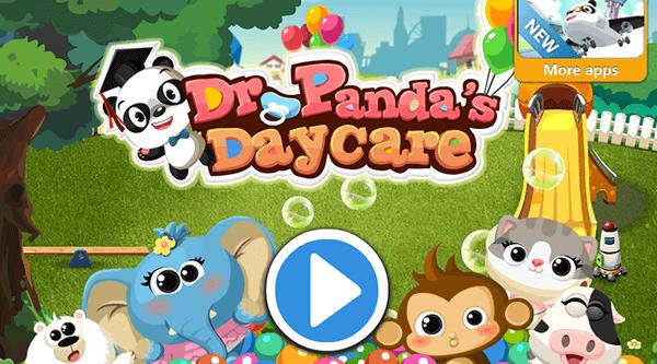 Gode Apps til Børn - Dr Pandas Dagpleje
