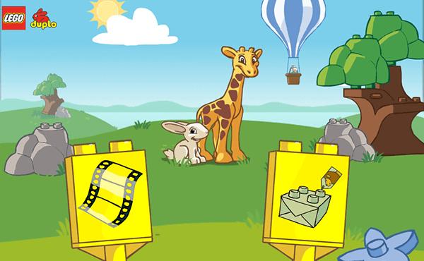Gode Apps til Børn - LEGO duplo zoo