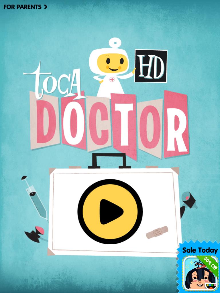 Gode Apps til Børn - Toca Doctor