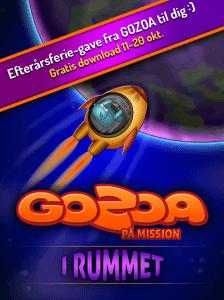 Gode Apps til Børn - GOZOA på mision i rummet