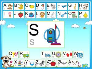 Gode Apps til Børn - Bogstavspillet