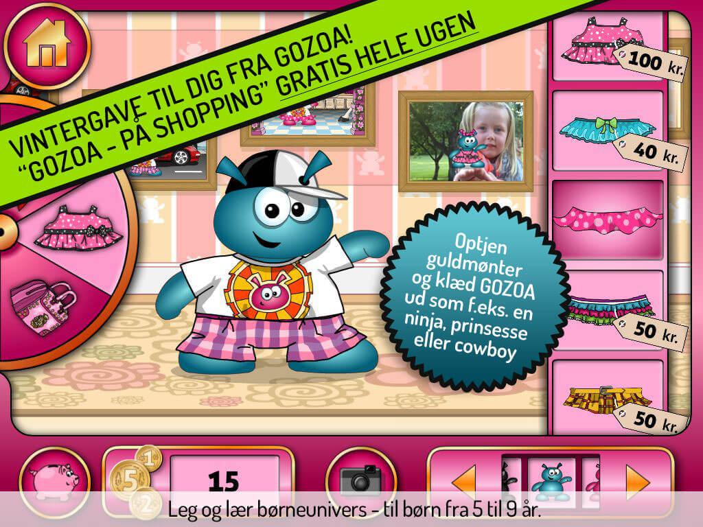 Gode Apps til Børn - GOZOA på shopping gratis