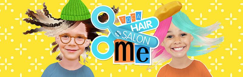 Gode Apps til Børn - Toca Hair salon Me