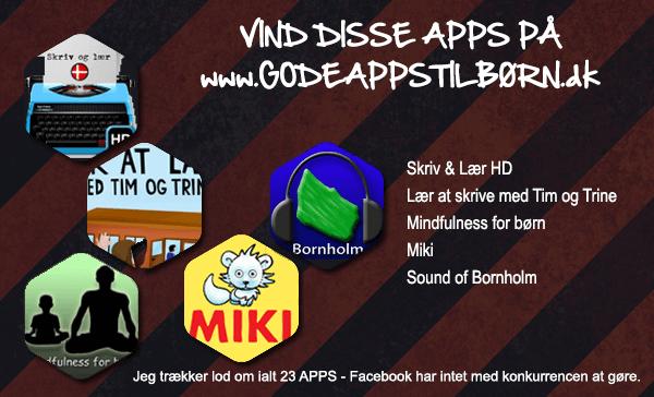 Gode Apps til Børn Konkurrence