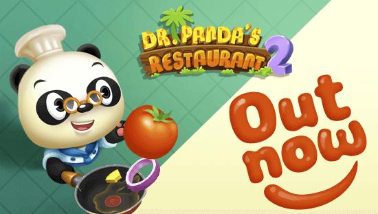 Gode Apps til Børn - Dr Pandas Restaurant 2