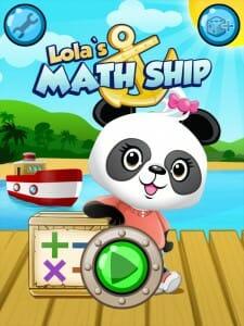Gode Apps til Børn - Lolas matematikskib