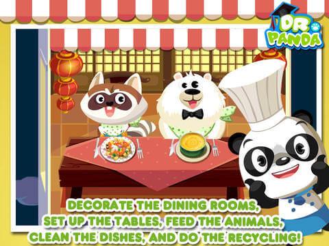Gode Apps til Børn - Dr Pandas Restaurant