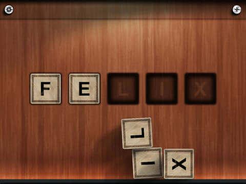 Gode Apps til Børn - Spell cubes