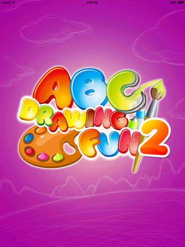 Gode Apps til Børn - Tegne app - ABC painting fun 2