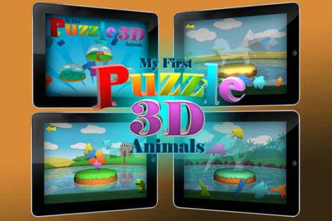 3D puslespils app
