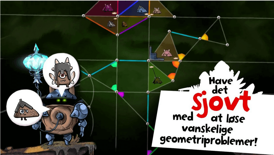 Dragonbox Elements lær geometri