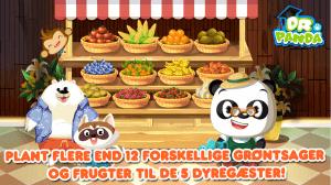 Dr Panda køkkenhave