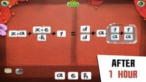 DragonBox Algebra 12+ efter 1 time