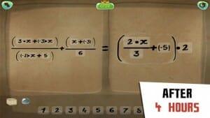 DragonBox Algebra 12+ efter 4 timer