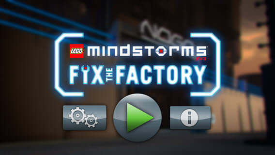 Lego Mindstorms fix the factory