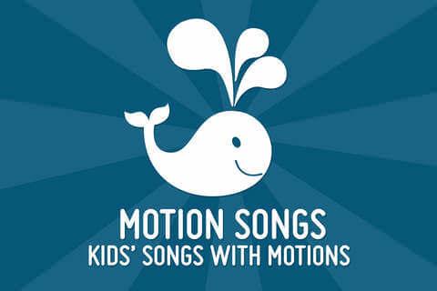 Motion Songs Sanglege på engelske