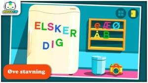 Bogga alfabet dansk