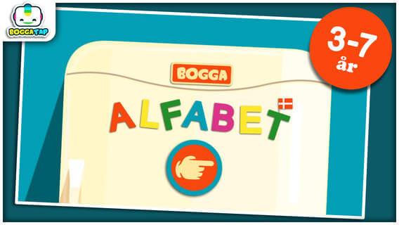 Bogga alfabetet dansk