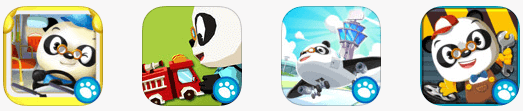 Dr panda app bundles cars and planes