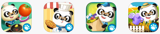 Dr panda app bundles food and cooking
