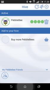 Pebblebee nøglefinder app