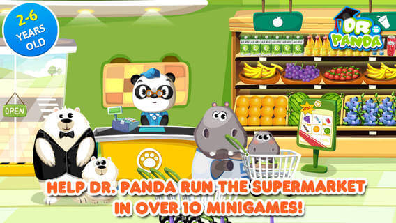 Dr Pandas Supermarked