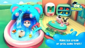 Dr Panda Swimming pool IS