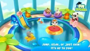 Dr Panda Swimming pool vandrutshebane