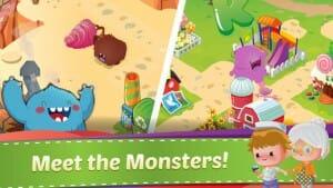 MiniMo Town mød monstrene