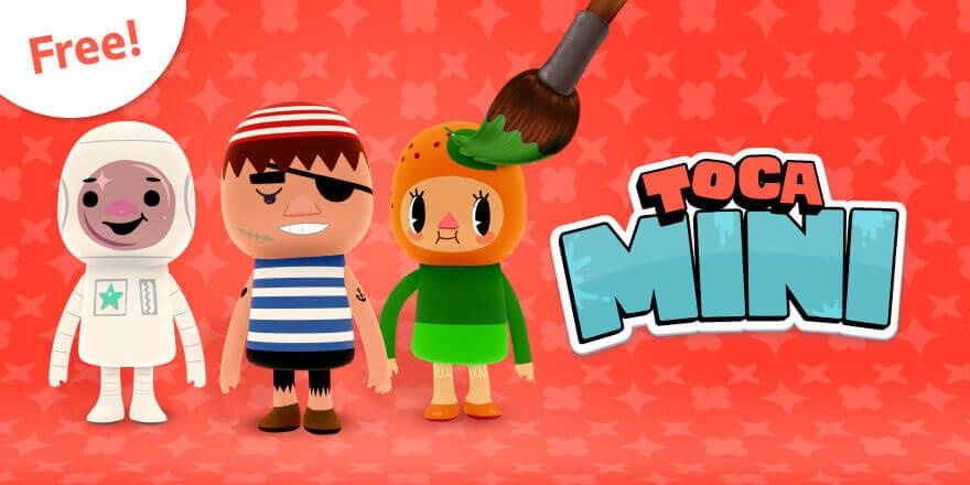 Toca Mini er gratis