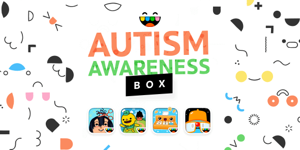Toca Box for Autism Awareness