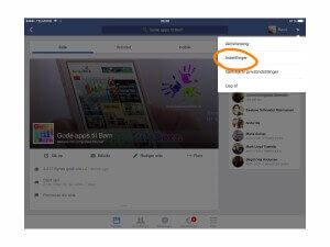 Fjern spilanmodninger på Facebook step 1