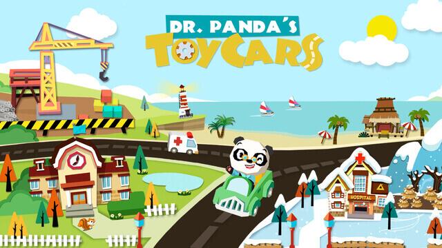 Dr Pandas Toy Cars