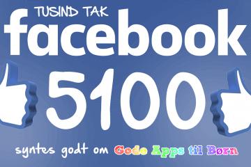 5100 likes - Tusind tak