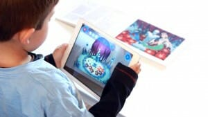 Books & Magic dreng med ipad