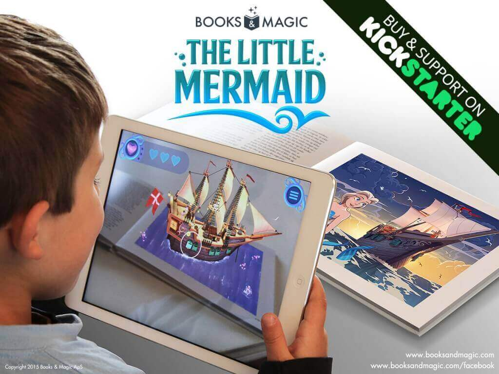 Støt Books & Magics the little mermaid på Kickstarter