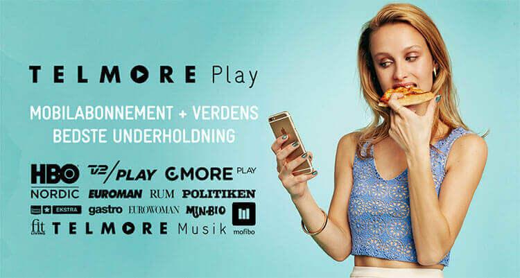 Min Bio med Telmore Play abonnement med masser af underholdning