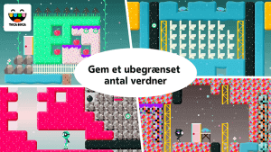 Toca Blocks - gem et ubegrænset antal verdener
