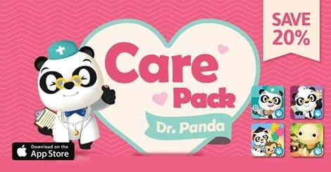 Dr Panda Care pack bundle