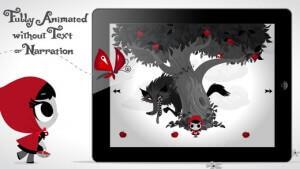 lil red app / lille rødhætte app