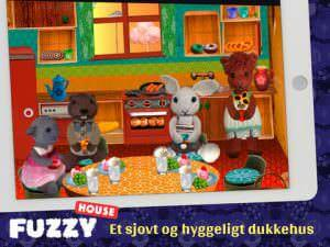 Fuzzy House dukkehus