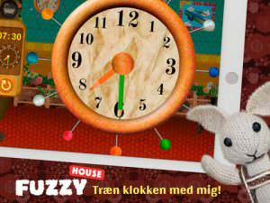 Fuzzy House lær klokken