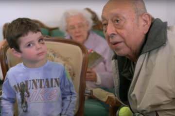 Børnehave på alderdomshjem