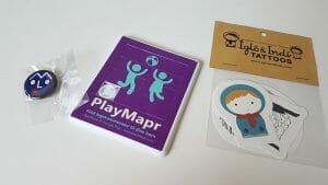 PlayMapr, tattoveringer, mole knap