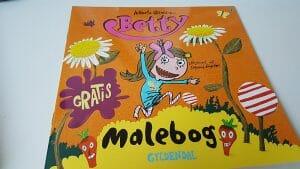 Malebog - Betty fra Gyldendal