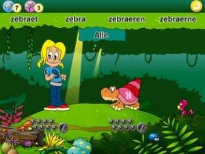 Pixeline Bogstavjunglen - screenshot