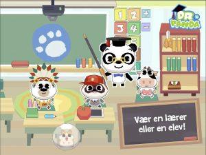 Dr panda skole lærer eller elev
